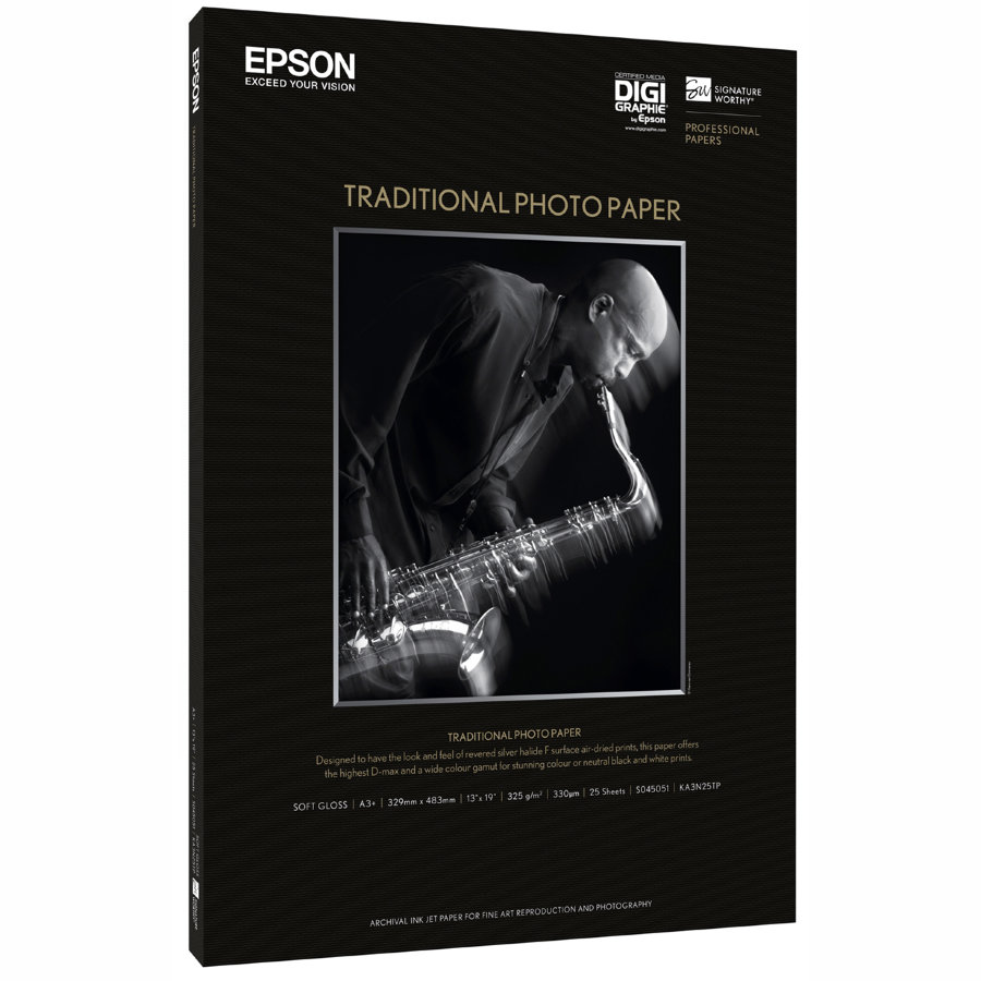 45052 Фотобумага EPSON Traditional Photo Paper A2 (25л., 330 г/м2)