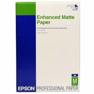 41718 Матовая фотобумага EPSON Enhanced Matte Paper A4 (250 листов, 192  г/м2)