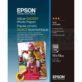 400039 Фотобумага EPSON Value Glossy Photo Paper 10x15 (100 листов, 183 г/м2)