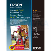 400038 Фотобумага EPSON Value Glossy Photo Paper 10x15 (50 листов, 183 г/м2)