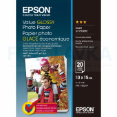 400037 Фотобумага EPSON Value Glossy Photo Paper 10x15 (20 листов, 183 г/м2)